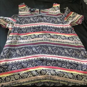 Multicolor shirt never worn
